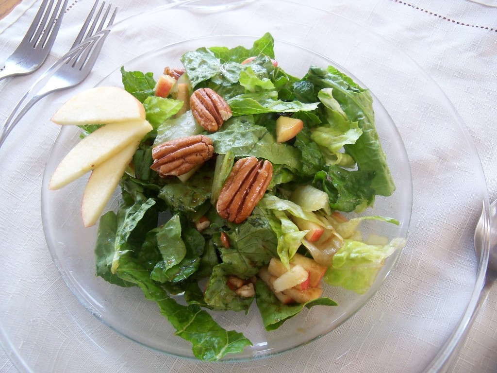 Apple Cranberry Pecan Salad1