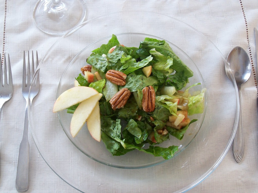 Apple Cranberry Pecan Salad2