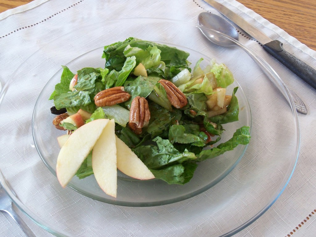 Apple Cranberry Pecan Salad3