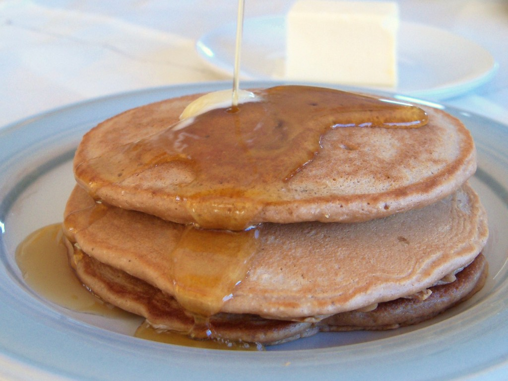 Fluffy Chestnut Flour Pancakes | Cook It Up Paleo