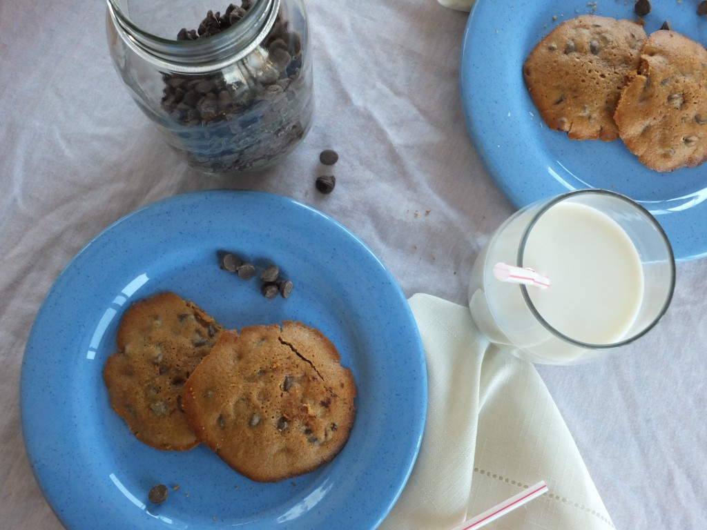 Chestnut Flour Chocolate Chip Cookies 2 Ways | Cook It Up Paleo