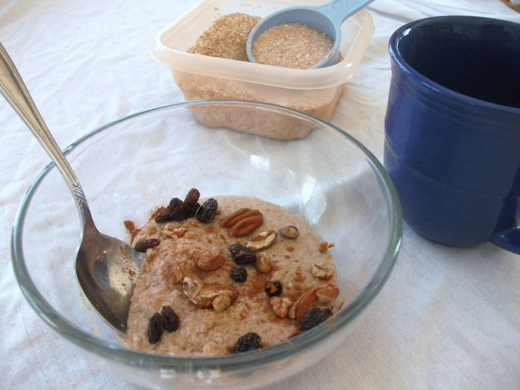 "Quick ""No Oats"" Paleo Hot Cereal Mix"