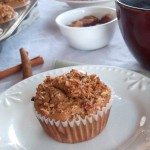 Spiced Pear Crumb Muffins - Cook It Up Paleo
