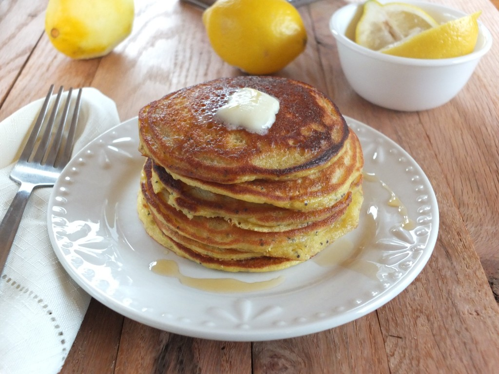 Lemon Poppyseed Pancakes | Cook It Up Paleo