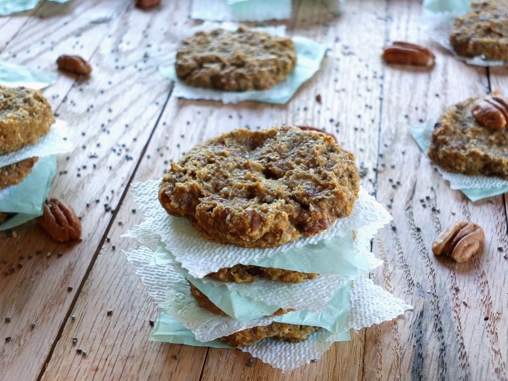 Plantain-Chia Seed Paleo Breakfast Cookies | Cook It Up Paleo