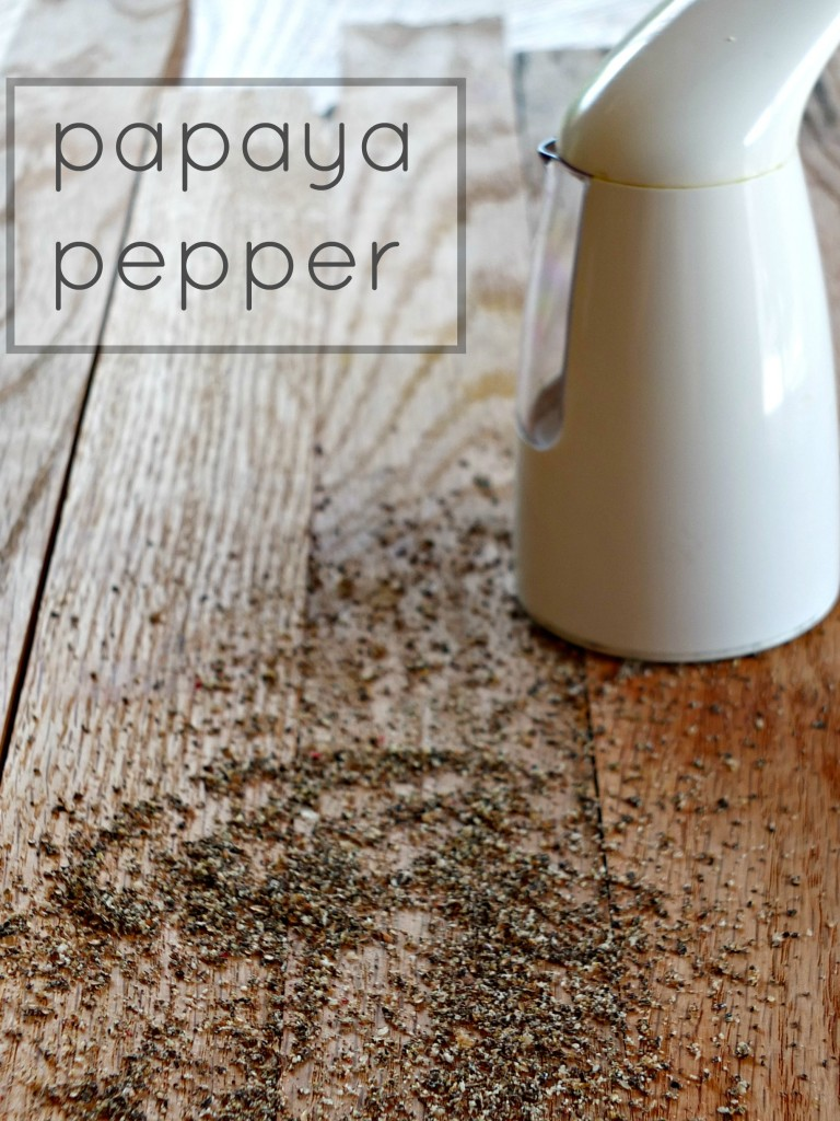Papaya Pepper | Cook It Up Paleo