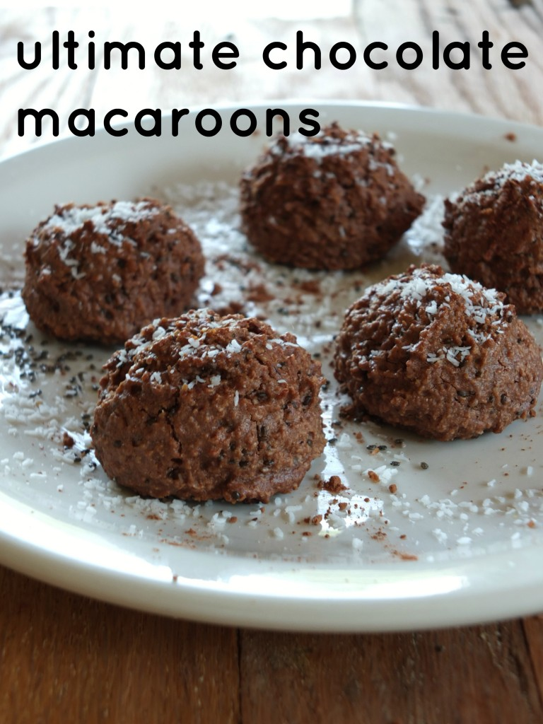 Ultimate Paleo Chocolate Macaroons | Cook It Up Paleo