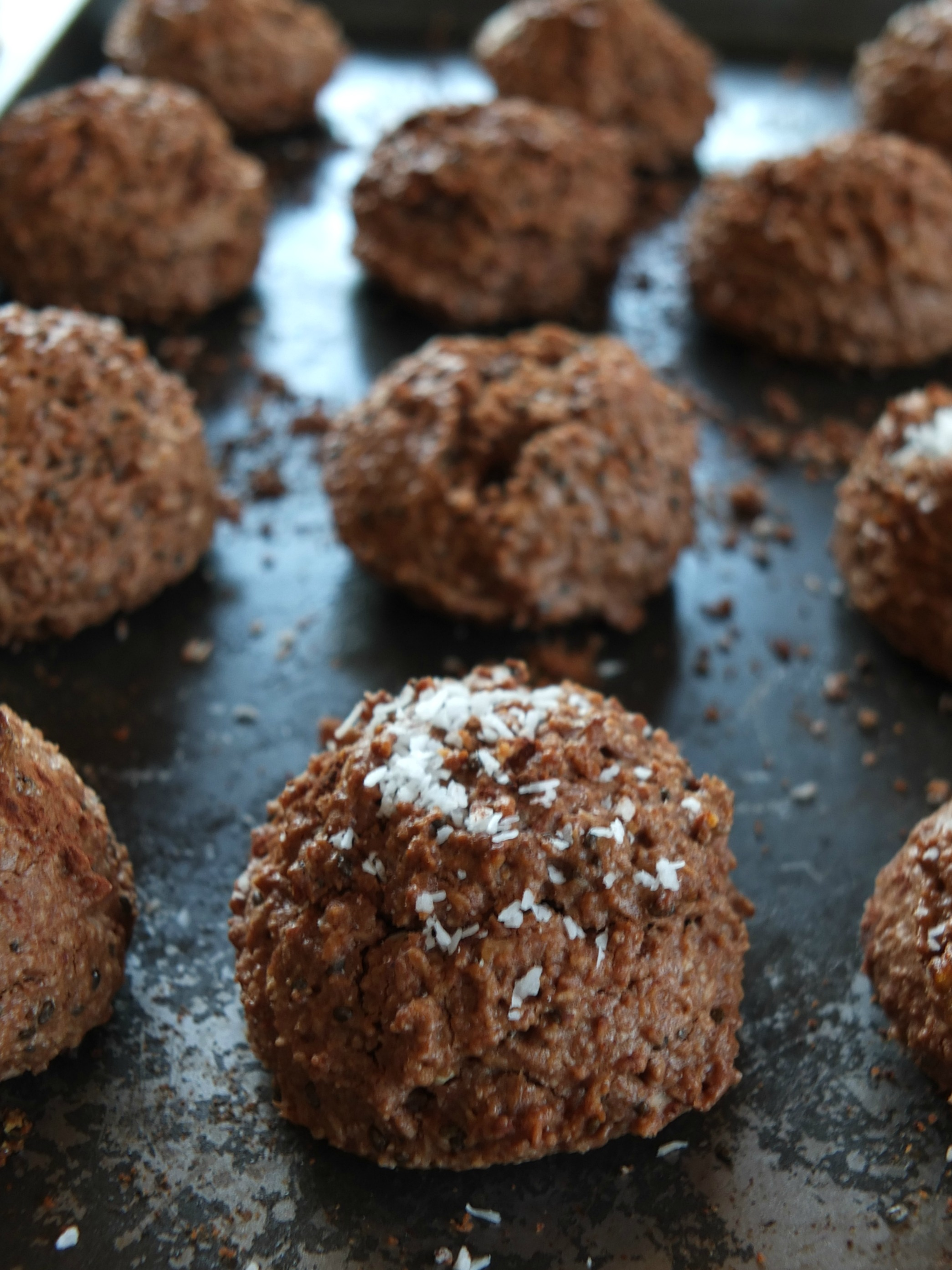 Paleo Chocolate Macaroons | Cook It Up Paleo