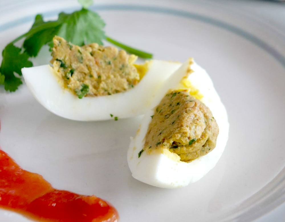 Taco-Spiced Paleo Deviled Eggs  (guest post on PaleOMG)