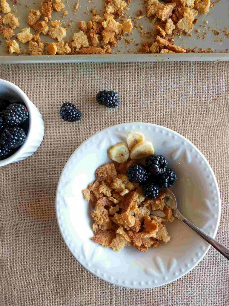 Paleo Cereal Flakes (AIP) | Cook It Up Paleo