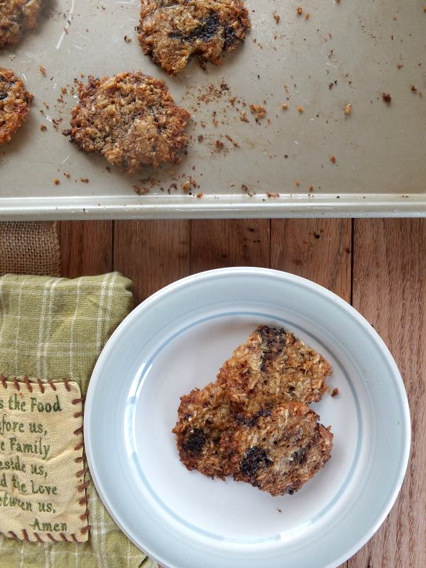 Carob Chip Cookies | Cook It Up Paleo