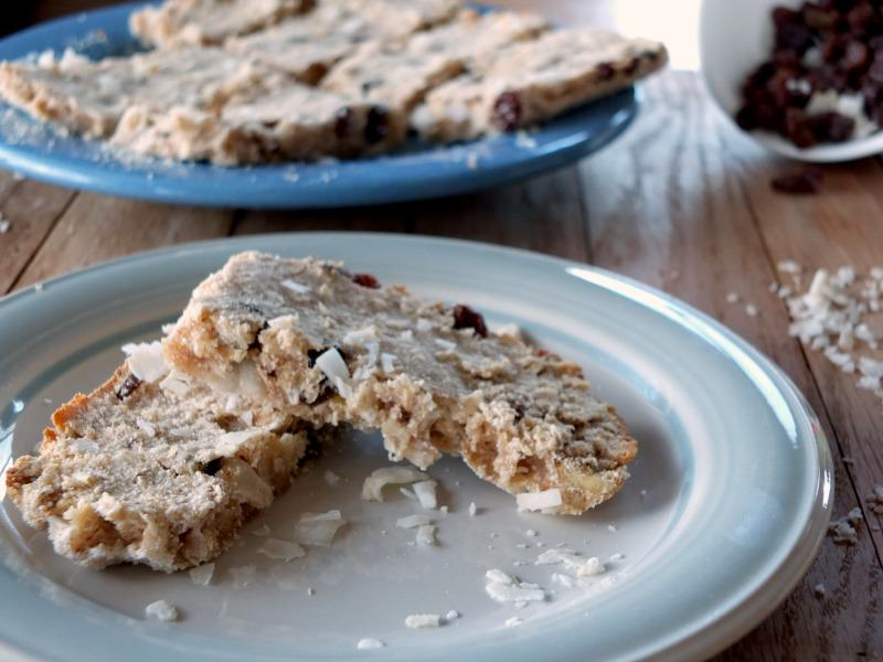 AIP Breakfast Bars with Applesauce and Raisins | Cook It Up Paleo