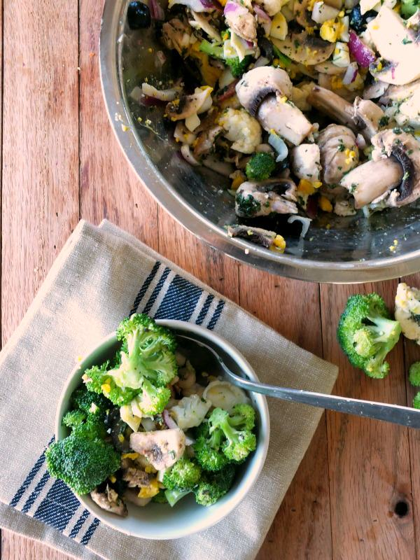 Paleo Broccoli Salad | Cook It Up Paleo