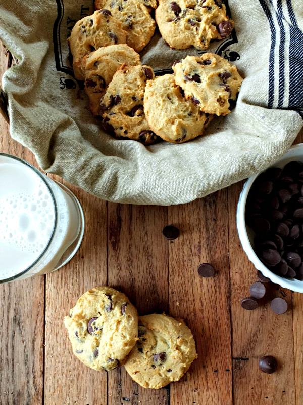 Cassava Flour Chocolate Chip Cookies | Cook It Up Paleo