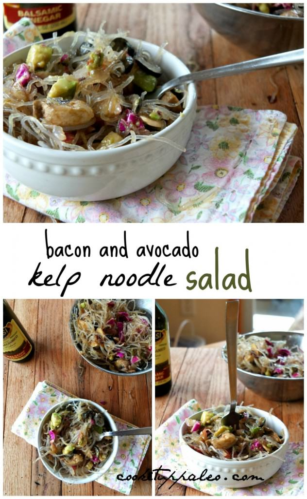 Kelp Noodle Salad | Cook It Up Paleo