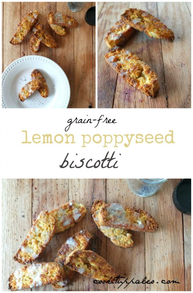 Paleo Lemon Biscotti | Cook It Up Paleo
