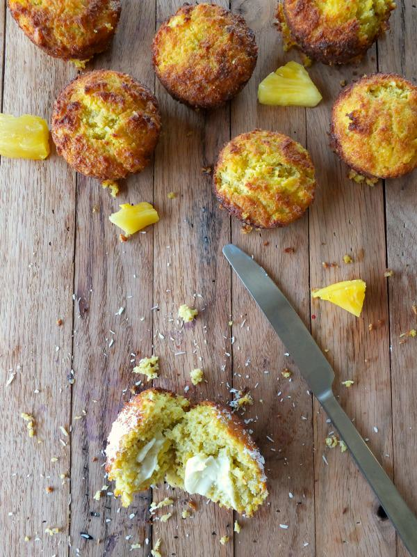 Pineapple Muffins | Cook It Up Paleo
