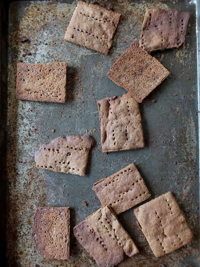 Paleo Graham Crackers - nut free | Cook It Up Paleo