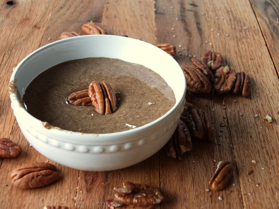 Maple-Cinnamon Pecan Butter