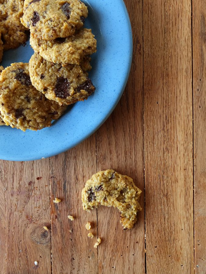 Plantain Chocolate Chip Cookies - Cook It Up Paleo