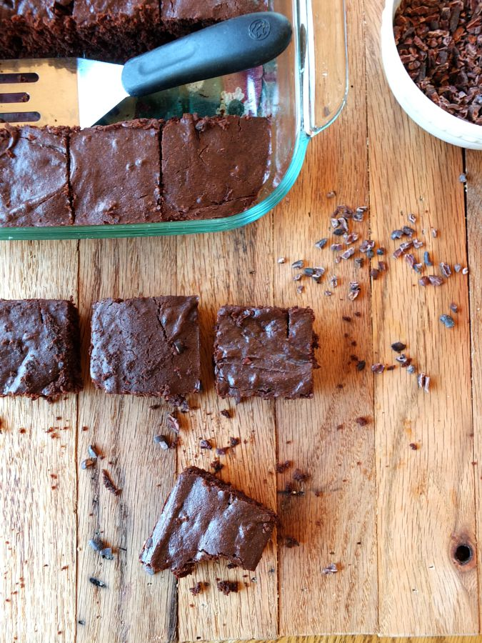 Cassava Flour Brownies | Cook It Up Paleo