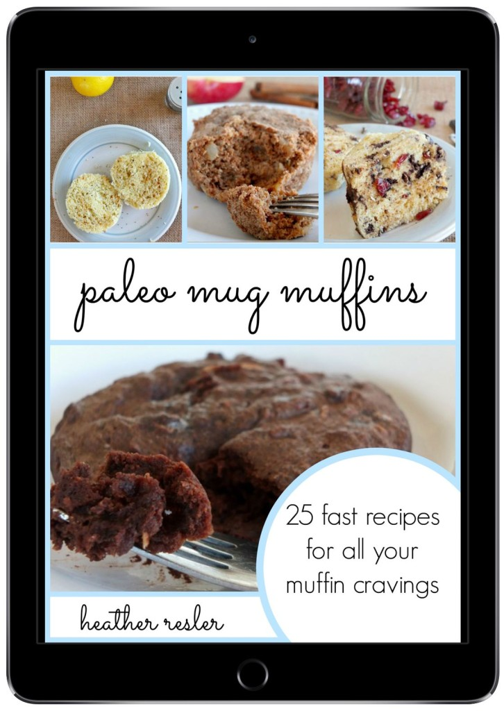 Paleo Mug Muffins | 25 fast recipes for all you muffin cravings