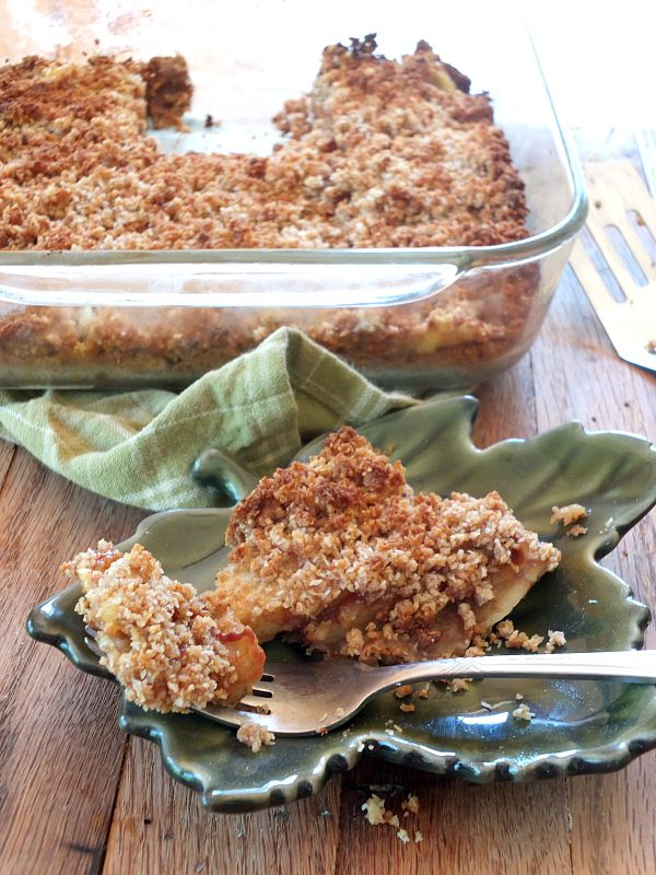 Paleo Apple Slab Pie (AIP) | Cook It Up Paleo
