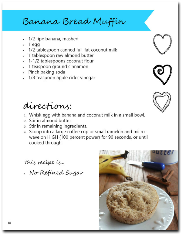 90-Second Paleo Banana Bread - soft, moist, sweet, fluffy perfection! | Cook It Up Paelo