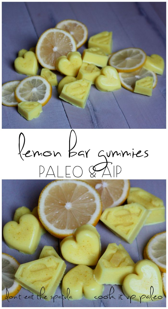 Lemon Gummies - Guest Post from Alex of Don't Eat the Spatula | Cook It Up Paleo