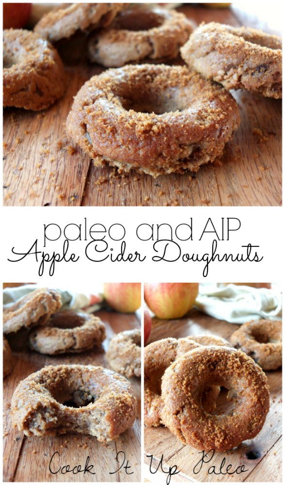 AIP Paleo Apple Cider Doughnuts | Cook It Up Paleo