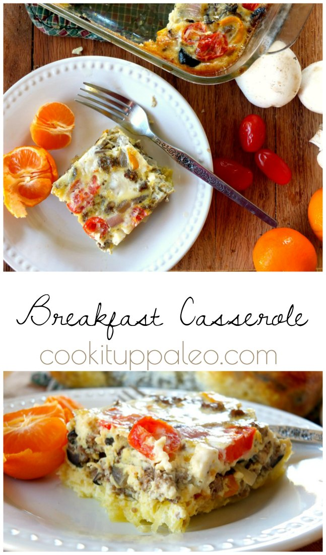 Paleo Breakfast Casserole | Cook It Up Paleo