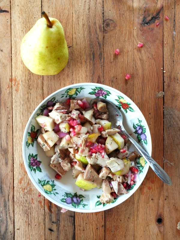 Pomegranate Chicken Salad | Cook It Up Paleo