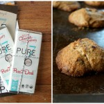 Tahini Chocolate Chip Cookies + Pure7 Chocolate Review | Cook it Up Paleo