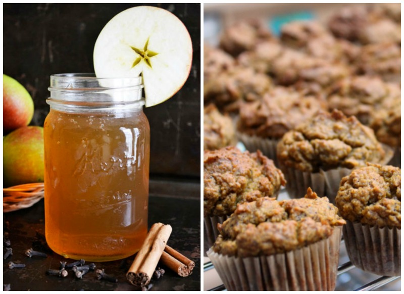 Real Food Friday #113 - Pumpkin Muffins and Apple Kombucha