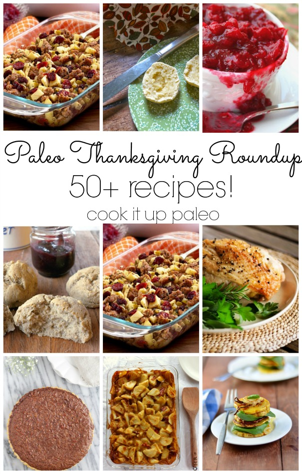 Paleo Thanksgiving Recipes Roundup 2015 | Cook It Up Paleo