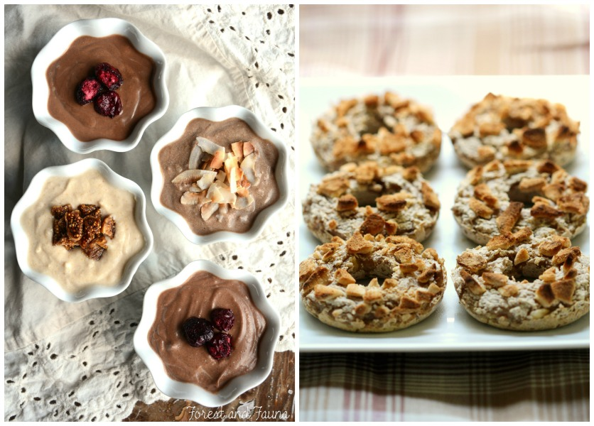 Real Food Friday #116 - Apple Doughnuts and Chocolate Pudding
