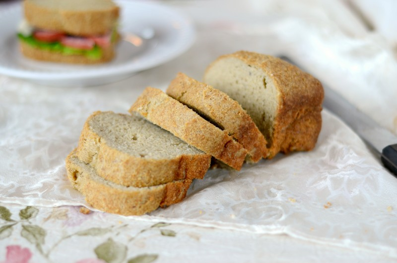 Low Carb Sandwich Bread Recipe | Cook It Up Paleo