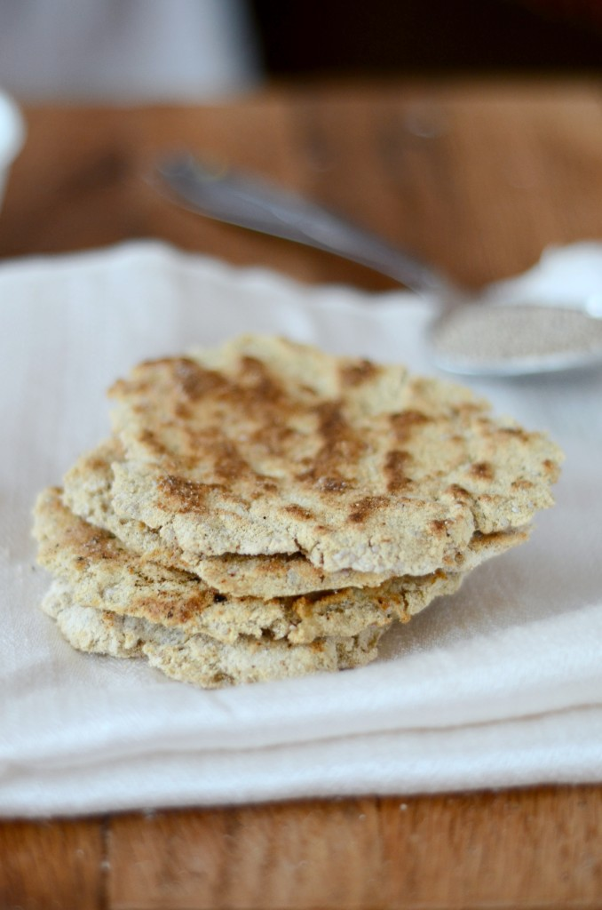 Coconut Flour Flatbread – Paleo, Low-Carb, 21DSD