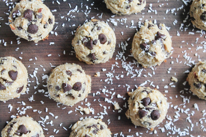 Paleo Chocolate Chip Macaroons - guest post from Katie of Healing Whole Nutrition
