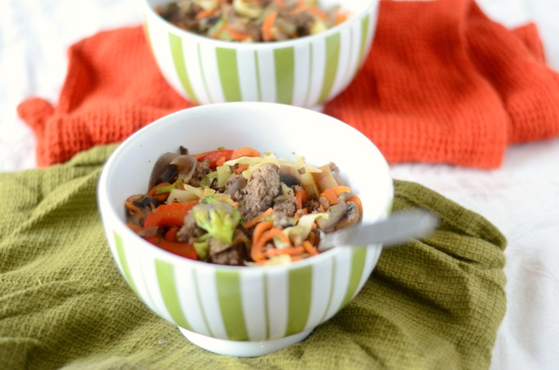 Paleo Hamburger Stir Fry
