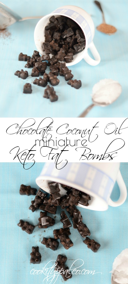 Chocolate Coconut Oil Fat Bombs