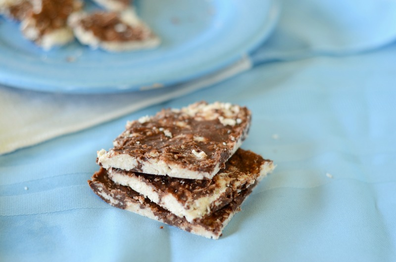 Chocolate Coconut Protein Bark