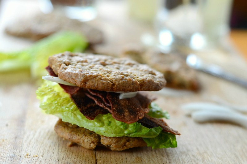Paleo Sandwich Thins (nut-free, egg-free, vegan, low-carb)