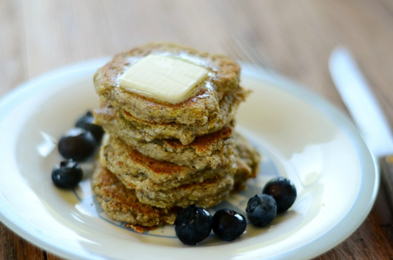 Egg Free Paleo Pancakes (low-carb)